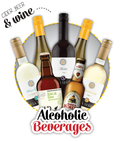 Alcoholic Beverages for Takeaway