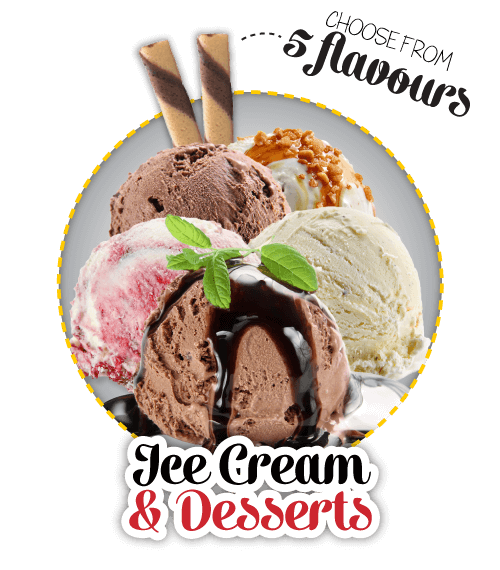 Ice Cream and Desserts for Delivery